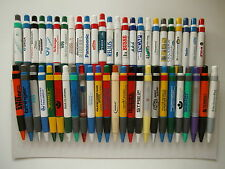 20  Kugelschreiber/ Bigpens/ BIGPEN: WEISS + BUNT gemischt a. Samml +Werb
