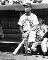 Cleveland Indians LARRY DOBY Glossy 8x10 Photo Baseball Print Photograph HOF 98
