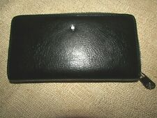 Montblanc wallet 100% leather
