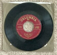 """The Four Lads vinyl 45 RPM """"No, Not Much"""" b/w """"I'll Never Know"""" 1955"""