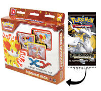 Fennekin Kalos XY Pokemon 60-Card Starter Deck Legendary Treasures Booster Pack