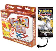 Fennekin Kalos XY Pokemon 60-Card Starter Deck Legendary Treasures Booster Pack