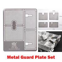 Metal Net Armored Metal Guard Plate  for 1/16Henglong German Tiger 3818 RC Tank
