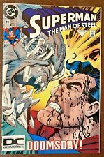 Superman The Man of Steel 19 DC Logo Variant 1/93 Doomsday 3rd Print