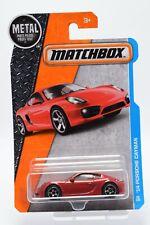'14 Porsche Cayman 23/125 - MBX Adventure City- Matchbox