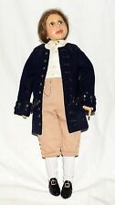 Benjamin Franklin by Diane Keeler Handmade Resin Doll in Costume with Keys