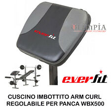 Everfit - APPOGGIO SCOTT Cuscino ARM CURL per PANCA PESI BICIPITI BRACCIA WBK500