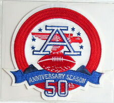 AMERICAN FOOTBALL LEAGUE AFL 50th ANNIVERSARY NFL TEAM PATCH Willabee Ward 2009