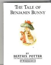 Beatrix Potter Book - The Tale of Benjamin Bunny - #4 1980s White HC - no DJ