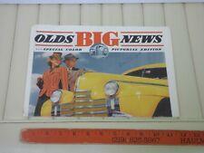 1940 Oldsmobile Pictorial Car Sales Brochure
