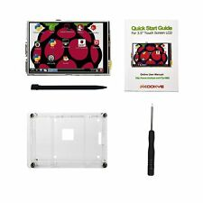 """3.5"""" Raspberry Pi TouchScreen LCD Display +Clear Case for Pi 2 3 New"""