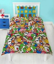 Nintendo Super Mario Single Duvet Cover Set Gang 2 in 1
