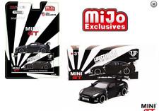 Mini GT Nissan GT-R R35 LBW Liberty Walk Matte Black MGT00031 1/64