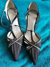 Ladies Black Next Shoes Size 5.5