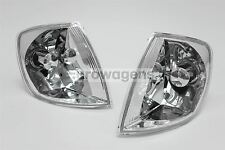 VW Polo 6N2 99-01 Crystal Clear Front Indicators Repeaters Set Pair Left Right
