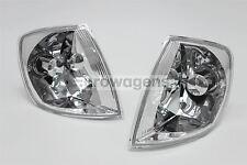 VW POLO 6N2 99-01 Crystal Clear Anteriore Indicatori Ripetitori SET COPPIA sinistra destra