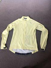 Womens LIV Cycling Jacket (size XL) - Yellow