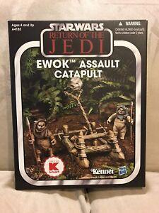 MIB 2013 Star Wars The Vintage Collection K-Mart Exclusive Ewok Assault Catapult