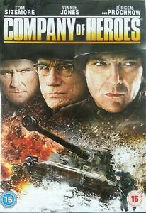 Company Of Heroes DVD  Region 2 UK 2013 Action War True Story