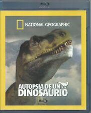 NATIONAL GEOGRAPHIC AUTOPSIA DE UN DINOSAURIO BLU-RAY NEW