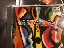 CD AX STOLTZMAN MA  BRAHMS BEETHOVEN MOZART Trio for Piano, Clarinet & Cello