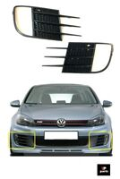 Para VW Golf 6Gti MK6 2009-2012 Parachoques Parrilla Funda Niebla Luces Left +