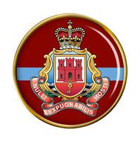 Royal Gibraltar Régiment, Armée Britannique Broche Badge