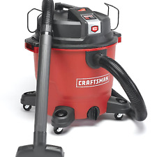NEW Craftsman XSP 16 Gallon 6.5 Peak HP Wet Dry Vac with BONUS Accessories