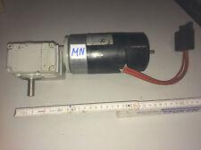 Gleichstrom-motor GROSCHOPP PM1 85-40 24V 95W 3000rpm Getriebe i=105 #MN