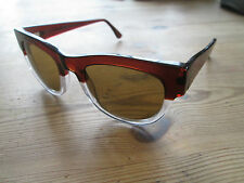 LGR Maputo OKI NI Brown Frame Occhiali da sole. HAND made in Italy. LIMITED EDITION 40