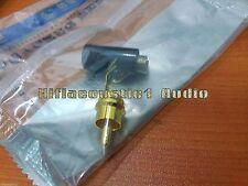 4x YS366 RCA Connector God Plated Plug Audio cable