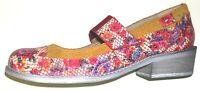 Ginita Portugal Damen Schuh Schuhe Halbschuh Slipper Ballerina 150378 rot Leder