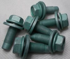 M12 12mm X 1.25 Extra Fine X 22mm Thread Hex Flange Head Bolt Lot Of 6 Bolts