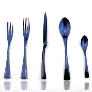 Dinnerware Knife Fork Spoon Dessert  Teaspoon kitchenware Set Stainless Steel