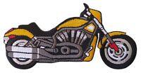 Patche écusson Moto roadster motard bike thermocollant patch brodé