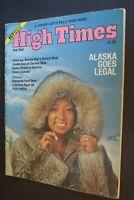MB-130 High Times Magazine Aug/Sept 1975 Issue Alaska Goes Legal, Katmandu More
