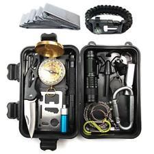 Hermosapoty Erste-Hilfe-Set, Reise-Outdoor-Ausrüstung Survival Treasure Box /Neu