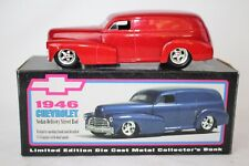 LIBERTY CLASSICS 1946 CHEVROLET STREET ROD, METALLIC RED, 1:25 SCALE, BOXED