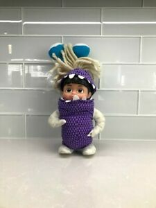 "2001 Hasbro Boo In Monster Costume Doll Disney Monsters Inc Plush Soft 9"""