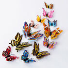 12pcs  3d Butterfly Wall Decals Decor Removable Stickers Home Decorations Nfi