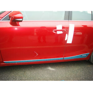 2011-2016 FIT For Lexus CT200H Stainles Chrome Body Door Side Molding Trims 4PCS