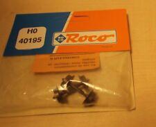 Roco H0 40195 Wechselstrom-Radsatz 9 mm 2 Stück Neu in OVP
