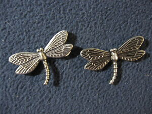 Dragonfly Metal Stick-Ons Set of 2 - Includes Shipping!