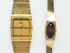 Vintage Seiko Watch Lot Of 2 Runs IOB TT455