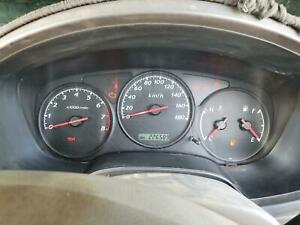 HOLDEN RODEO INSTRUMENT CLUSTER MANUAL, 2WD, 3.5, 6VE1, RA, 03/03-10/06