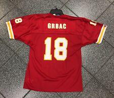 New Size YOUTH LARGE Elvis Grbac Kansas City Chiefs NFL Football Jersey Champion
