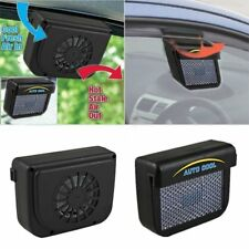 Solar Sun Powered Car Auto Vehicle Window Air Vent Exhaust Fan Ventilation AU
