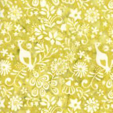 Moda Fabric Longitude Batiks Citrine 27259-77 - Per 1/4 Metre