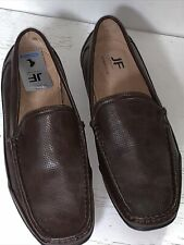 J.Ferrar Mens Brown Loafers,  Size 10m, New