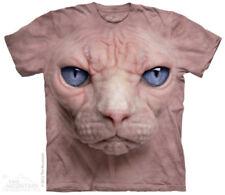 Katzen Damen-T-Shirts mit Motiv aus Baumwolle